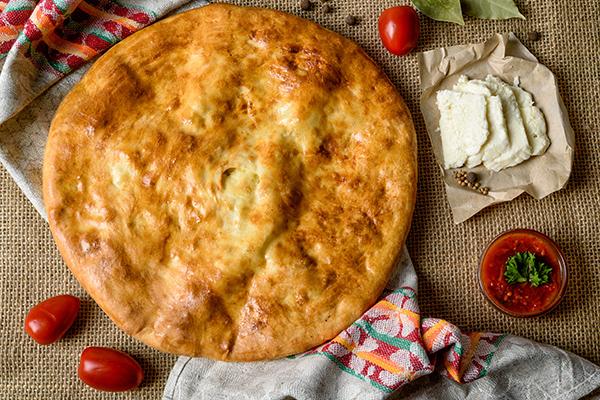 Рецепт хачапури из дрожжевого теста с сыром в духовке