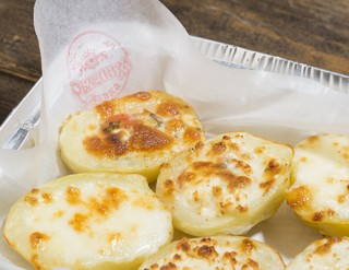 Картофельные лодочки с сыром, 100 гр. - 245
