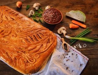 пирог Крестьянский (3,5 кг) - 4500 тг